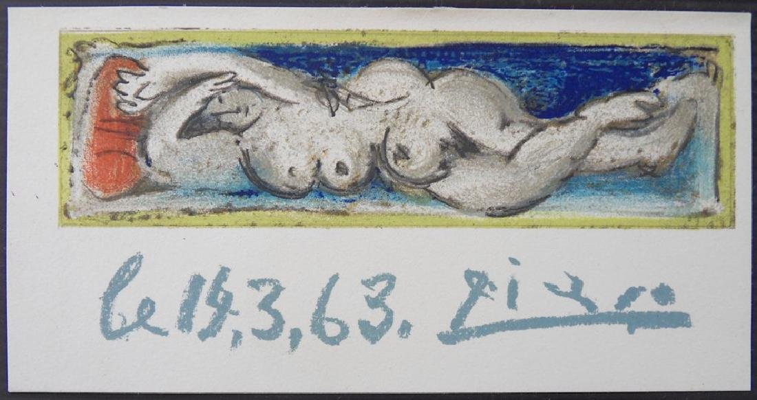 Pablo PICASSO, After: Reclined nude