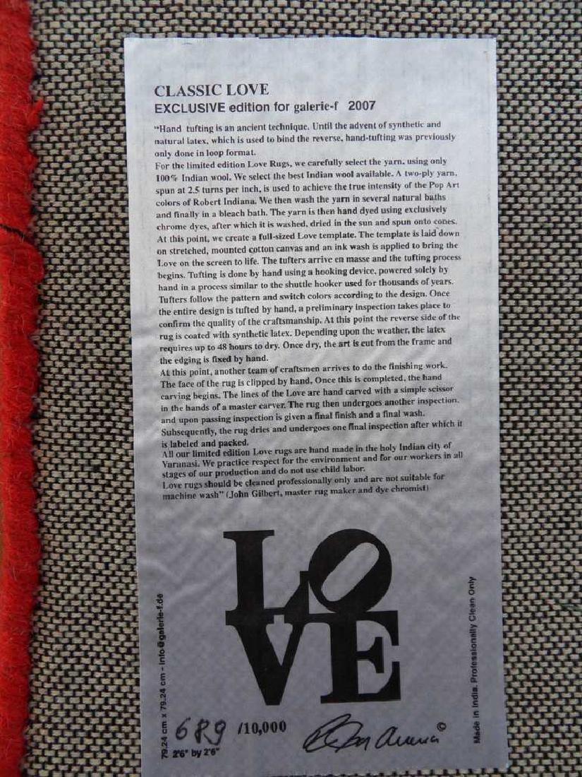Robert INDIANA: Classic LOVE - 2