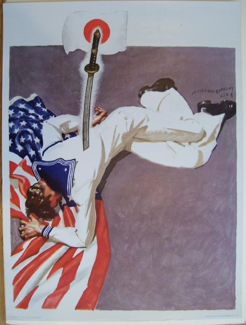 WWII McClelland Barclay Poster