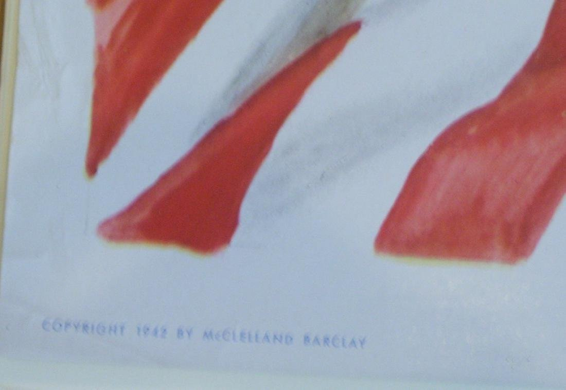 WWII McClelland Barclay Poster - 3