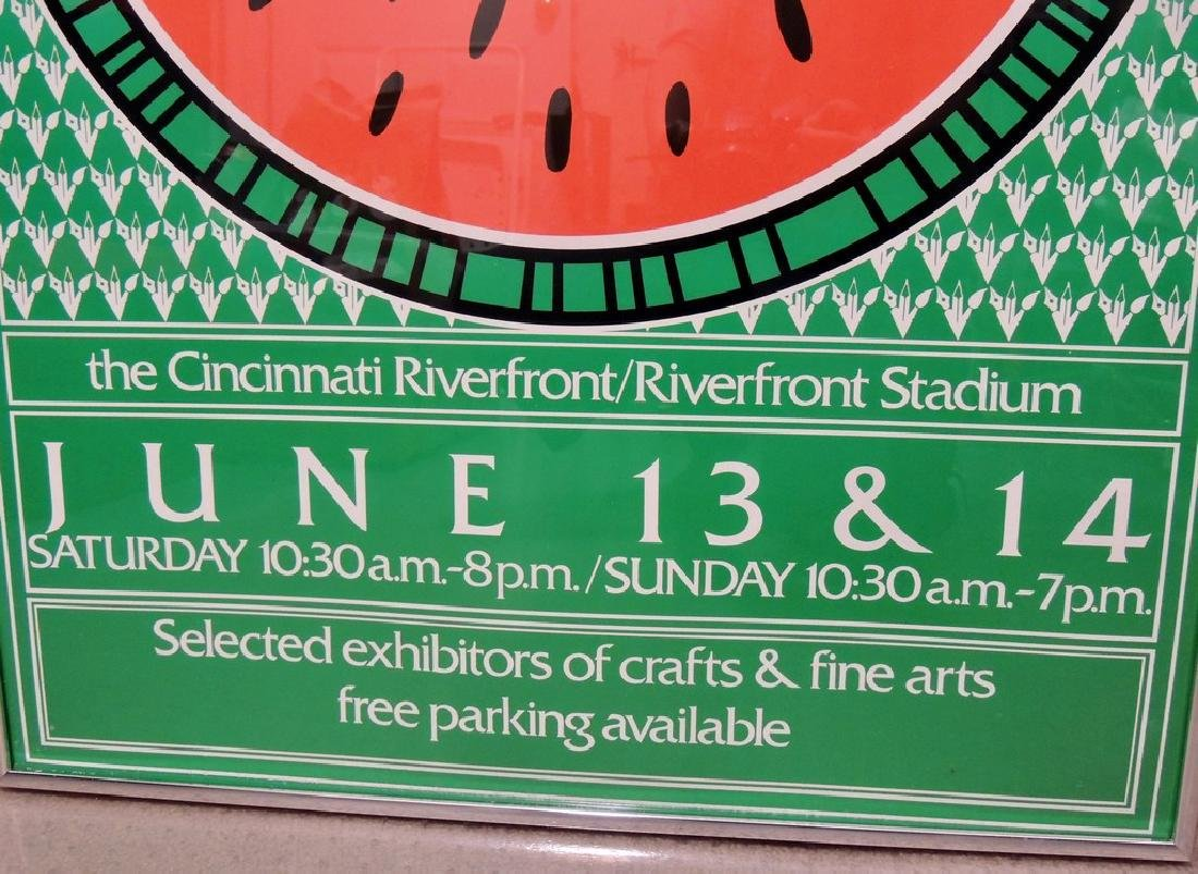 Summer Fair 1981 Cincinnati Original Event Poster - 6