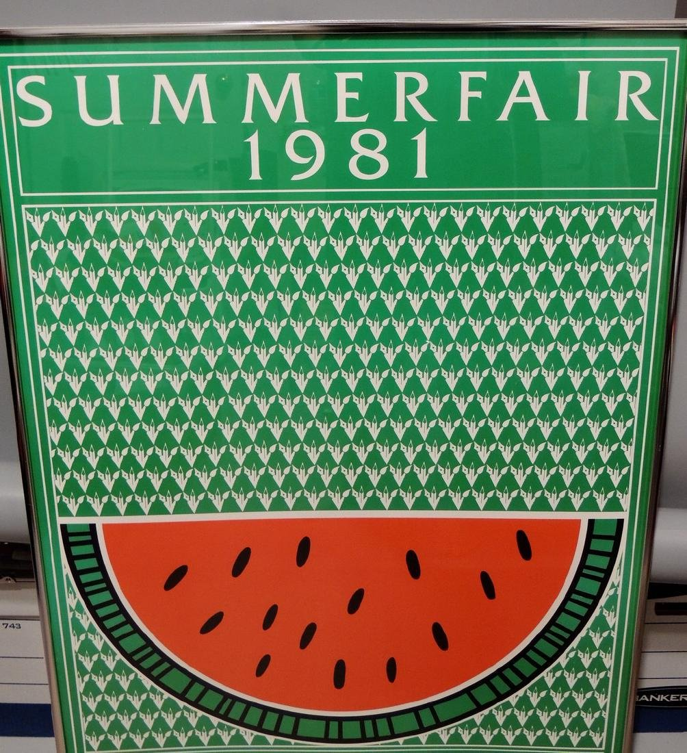 Summer Fair 1981 Cincinnati Original Event Poster - 7