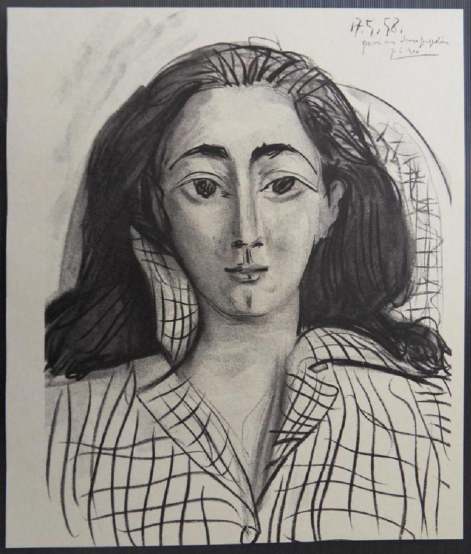 Pablo PICASSO, After: Jacqueline