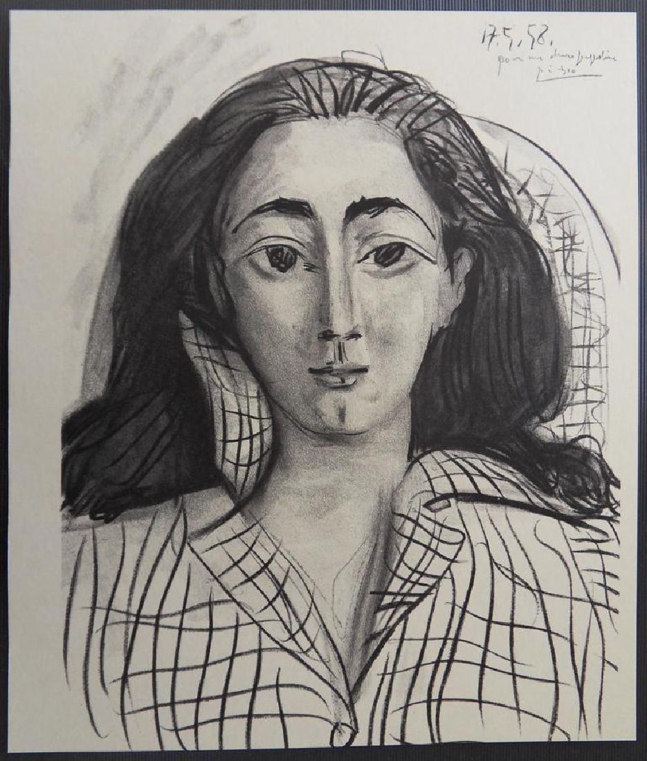 Pablo PICASSO, After: Jacqueline