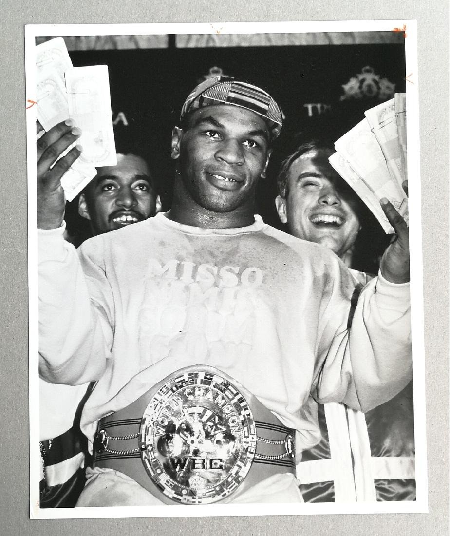 Adam Scull/Globe Photos - Mike Tyson, 1989 - 2