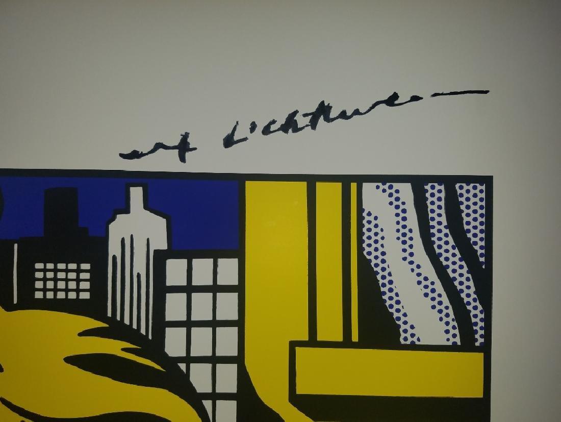 Roy Lichtenstein 1979 LARGE Poster after his 1965 - 3