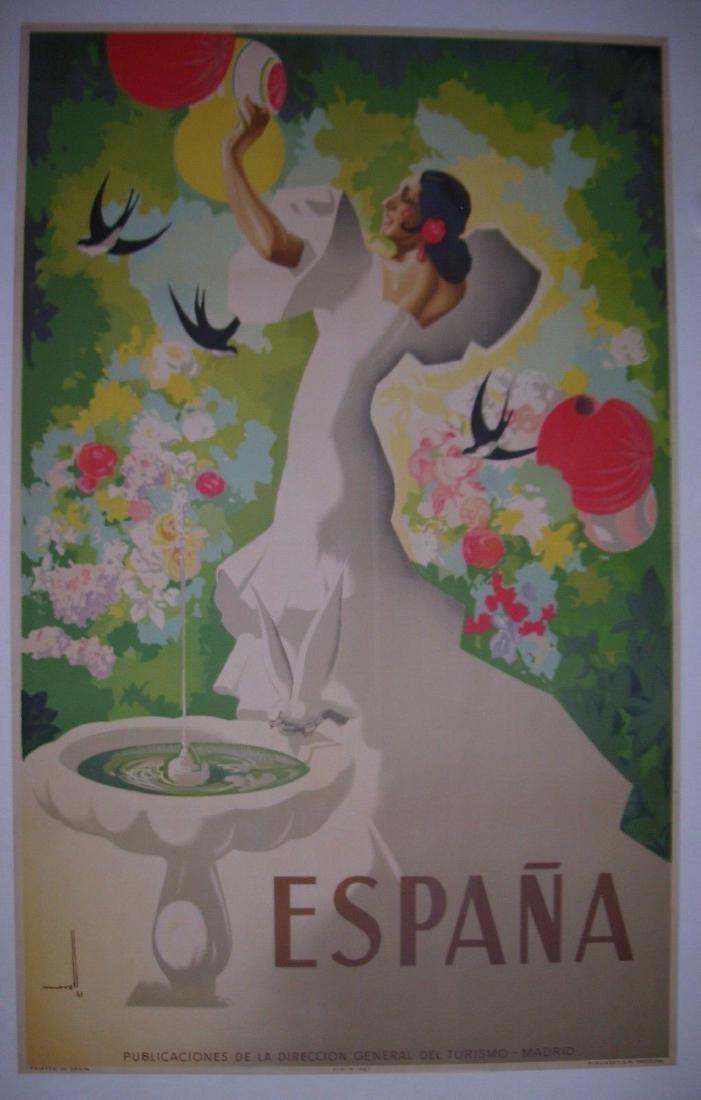 Espana Travel Poster