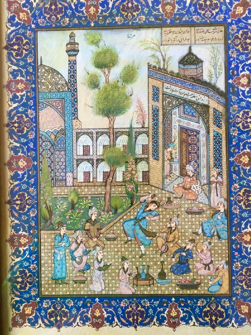 Antique Pahlavi miniaturist
