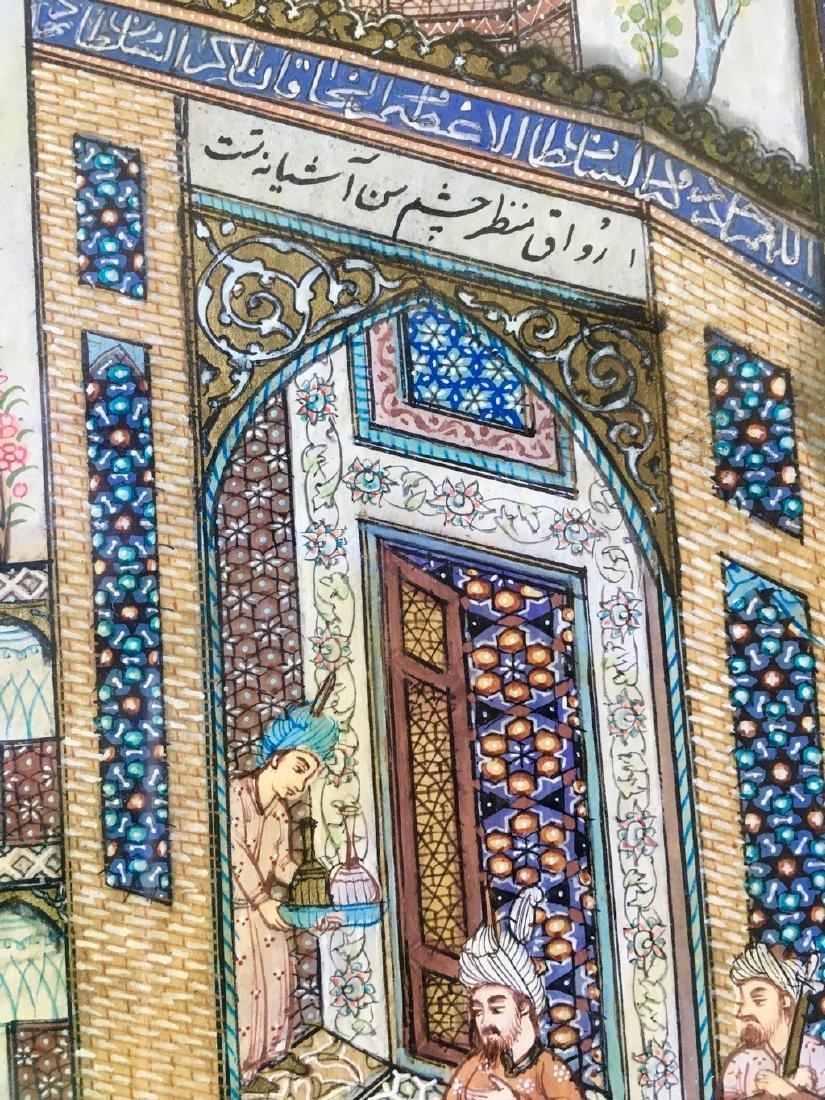 Antique Pahlavi miniaturist - 2
