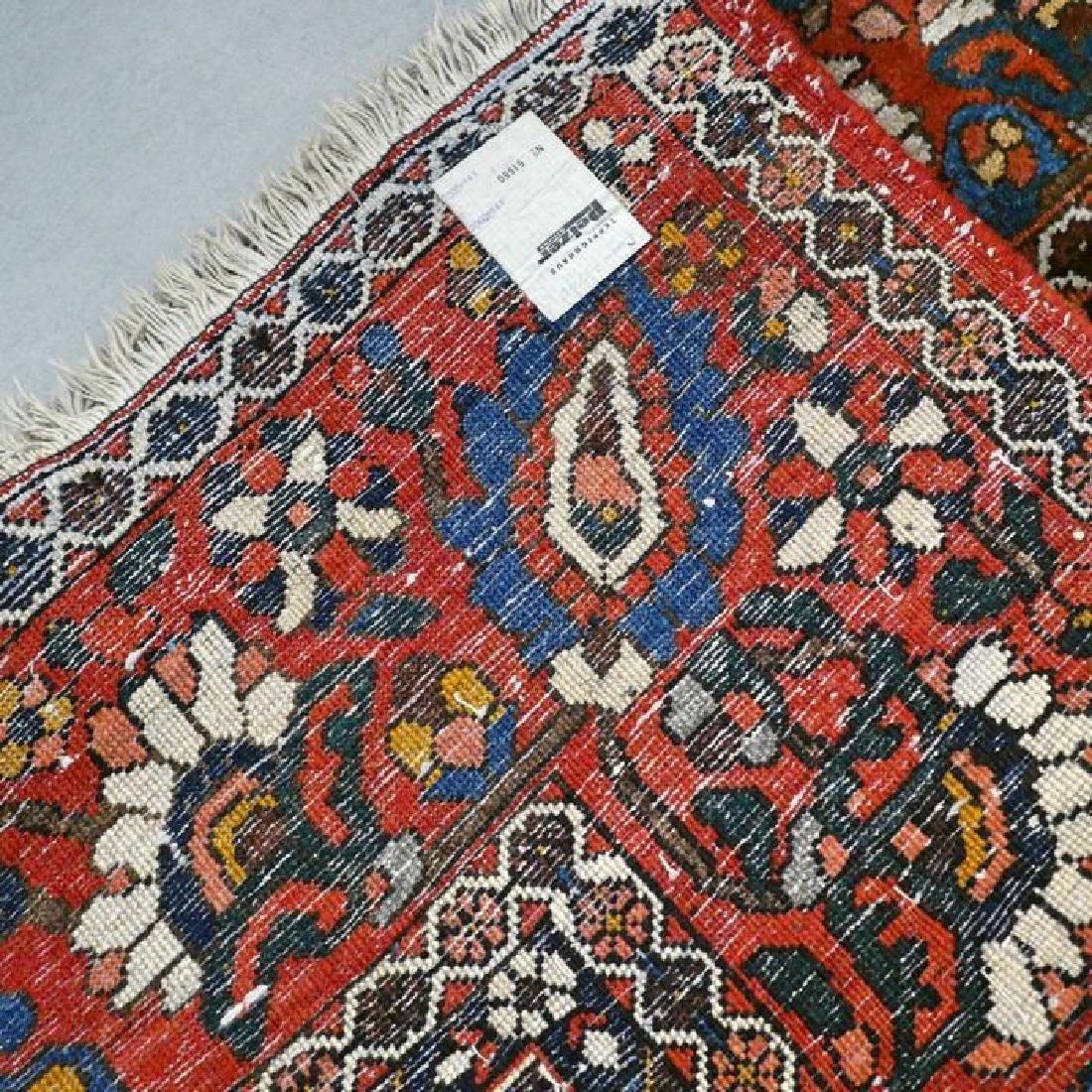 Hand Knotted Vintage Garden Tile Bakhtiar Rug 10x7 - 4