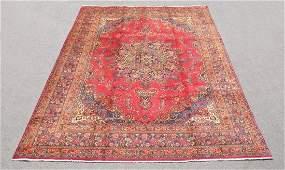Semi Antique Persian Tabriz Rug 12.8x9.6