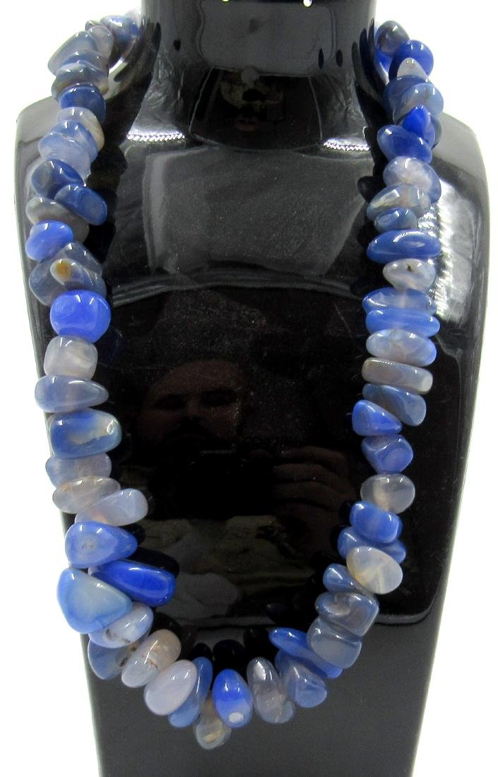 Ancient Egyptian Lapis Lazuli Beaded Necklace