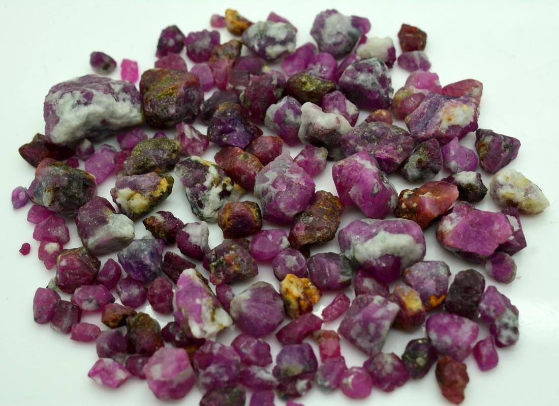 515 Carats Natural Ruby Specimens Rough Lot - 2
