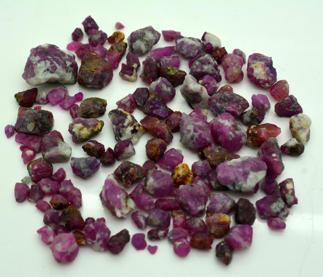 515 Carats Natural Ruby Specimens Rough Lot - 5
