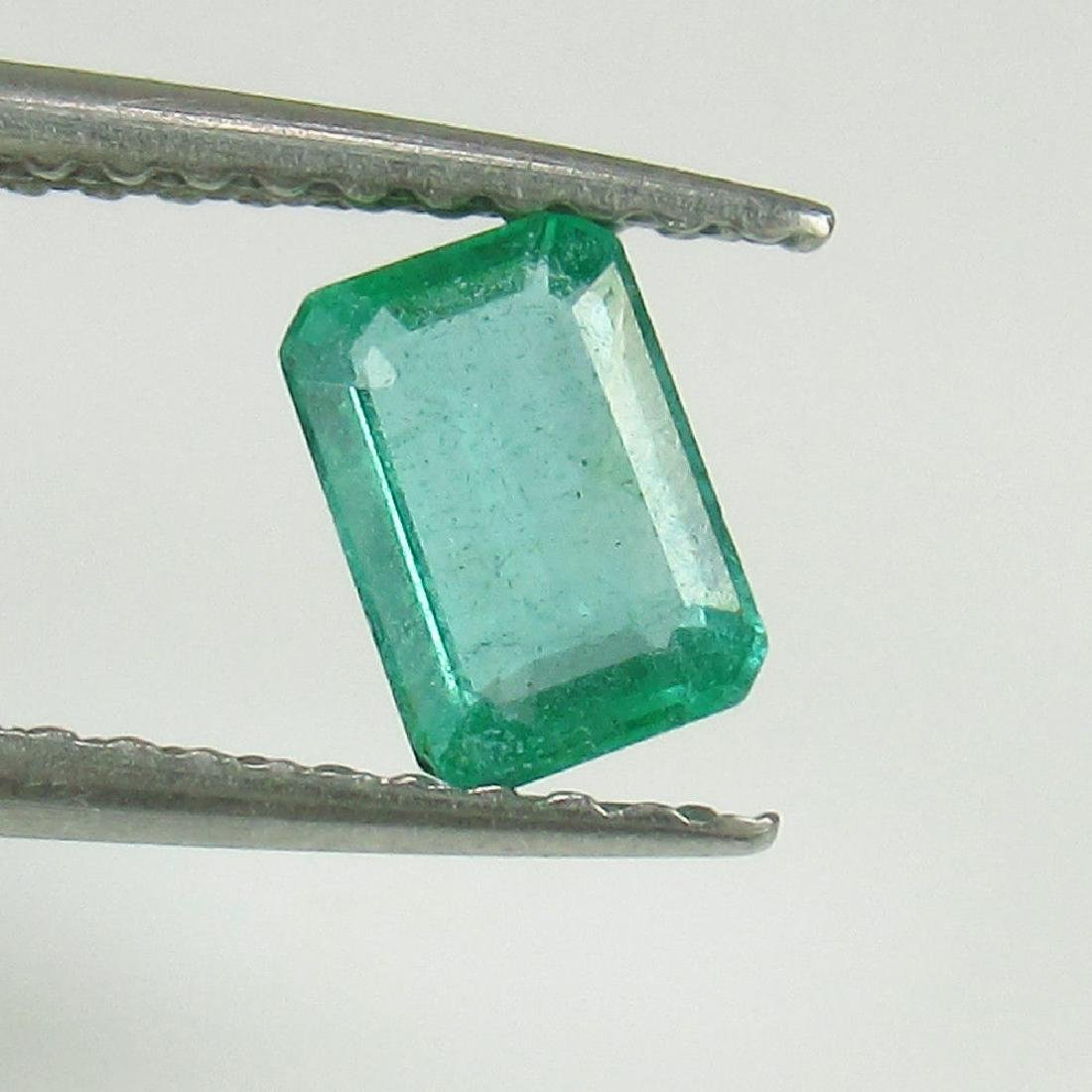 0.48 Ct Genuine Loose Zambian Emerald Octagon cut