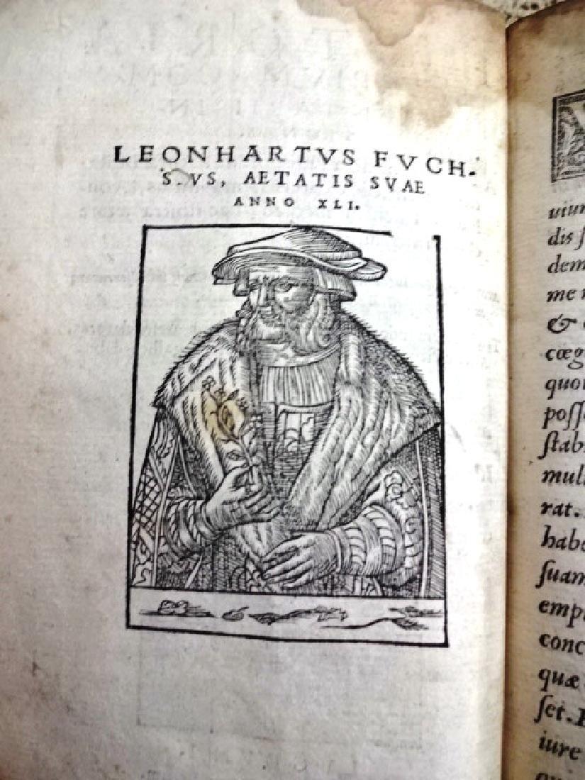 1549 Illustrated Fuchs Botanical Vellum Binding