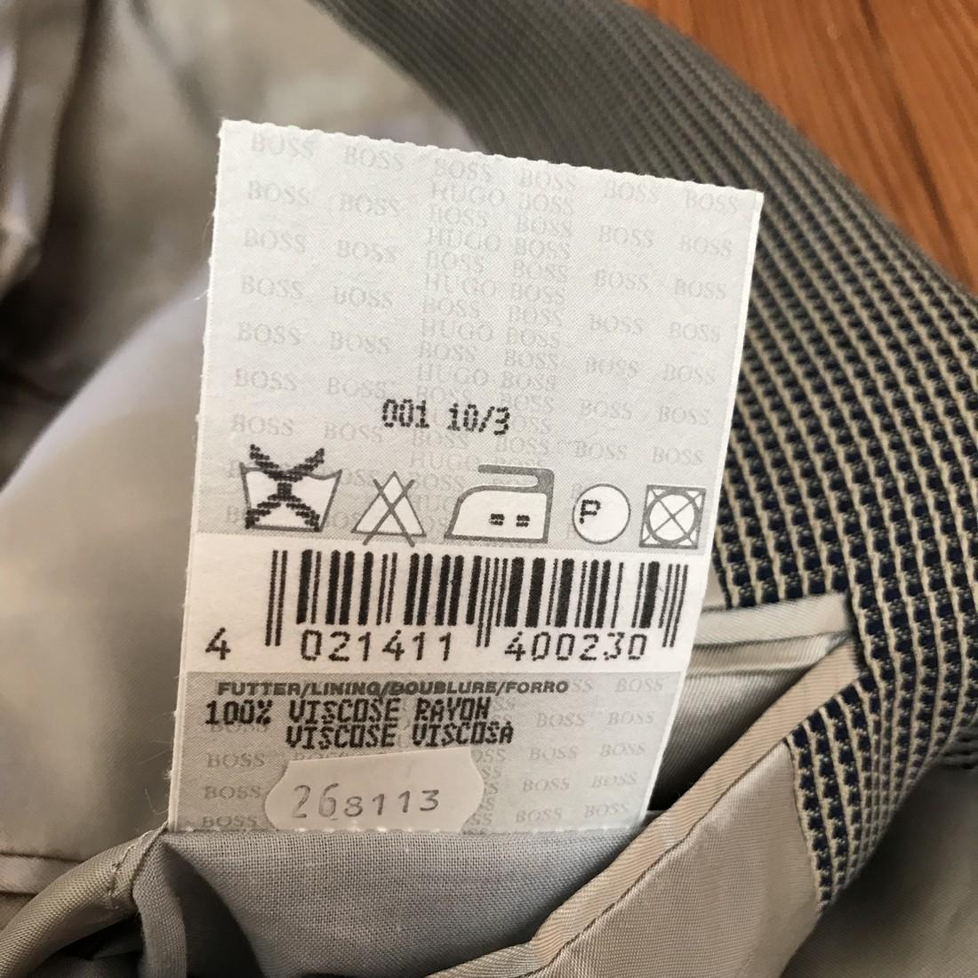 Men's HUGO BOSS Blazer Size 44 Short US/UK or 54 Short - 10