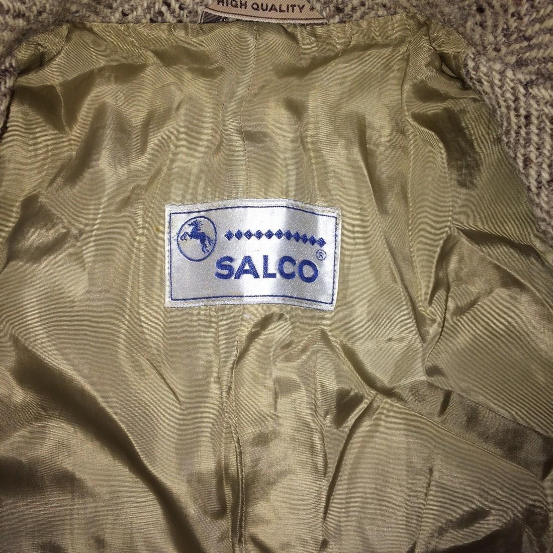 Women's Salco Pure New Wool Jacket Coat Size XL - 7