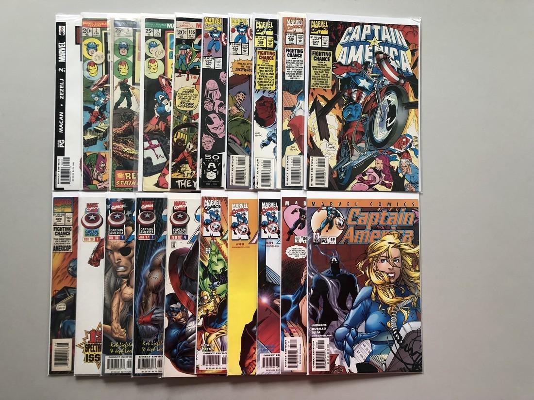 Lot of 20 Captain America Comics