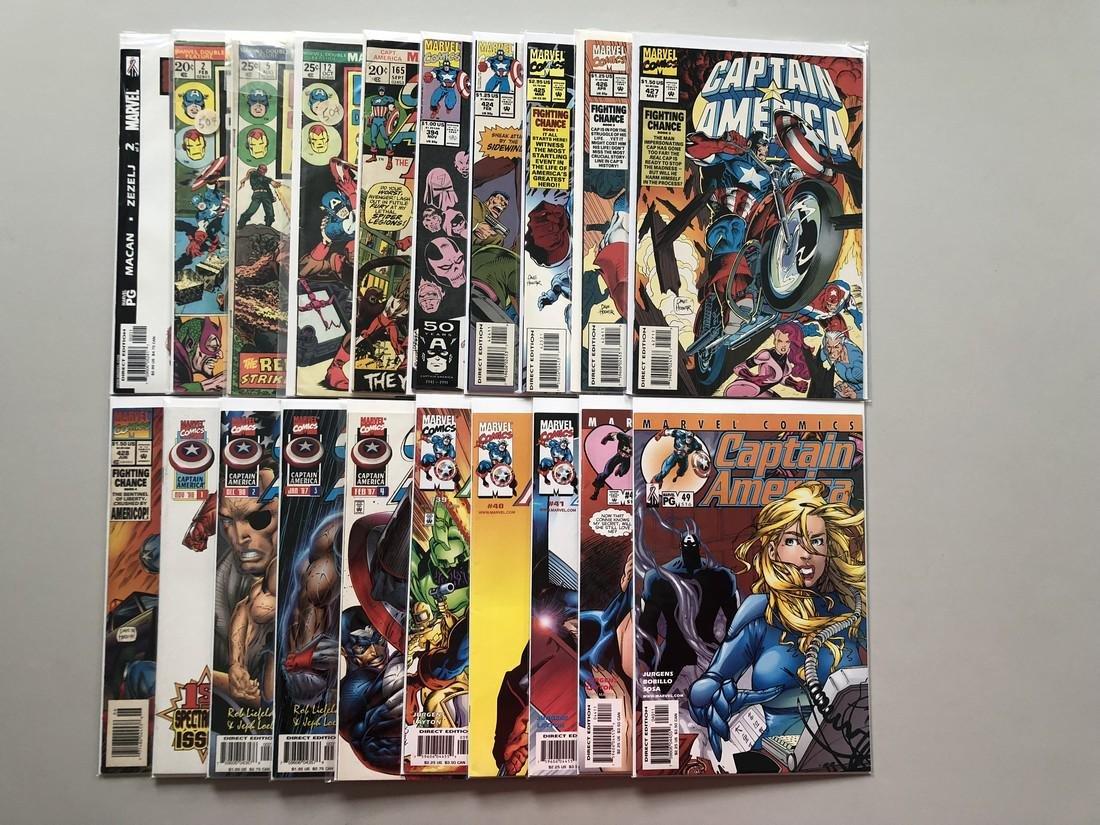 Lot of 20 Captain America Comics - 2
