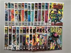 Complete Set Lot of 47 Nick Fury Agent of SHIELD (1989