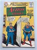 Action Comics (1938 DC) #222 Low Grade Paper Loss