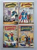 Lot of 4 Adventure Comics (1938 1st Series) #301 304