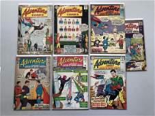Lot of 7 Adventure Comics (1938 1st Series) #310 311