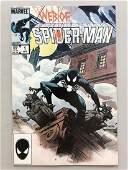 Web of Spider-Man (1985 1st Series) #1 Black Suit