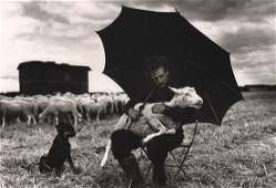SABINE WEISS - Shepard, Ile de France, 1954