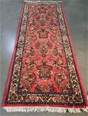 Authentic Antique Persian Sarouk Rug 2.8x6.9