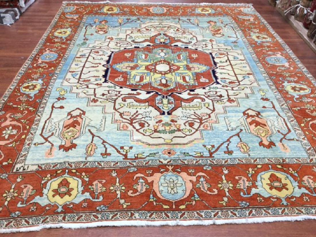 Decorative Persian Serapi Rug 8.3x10.3