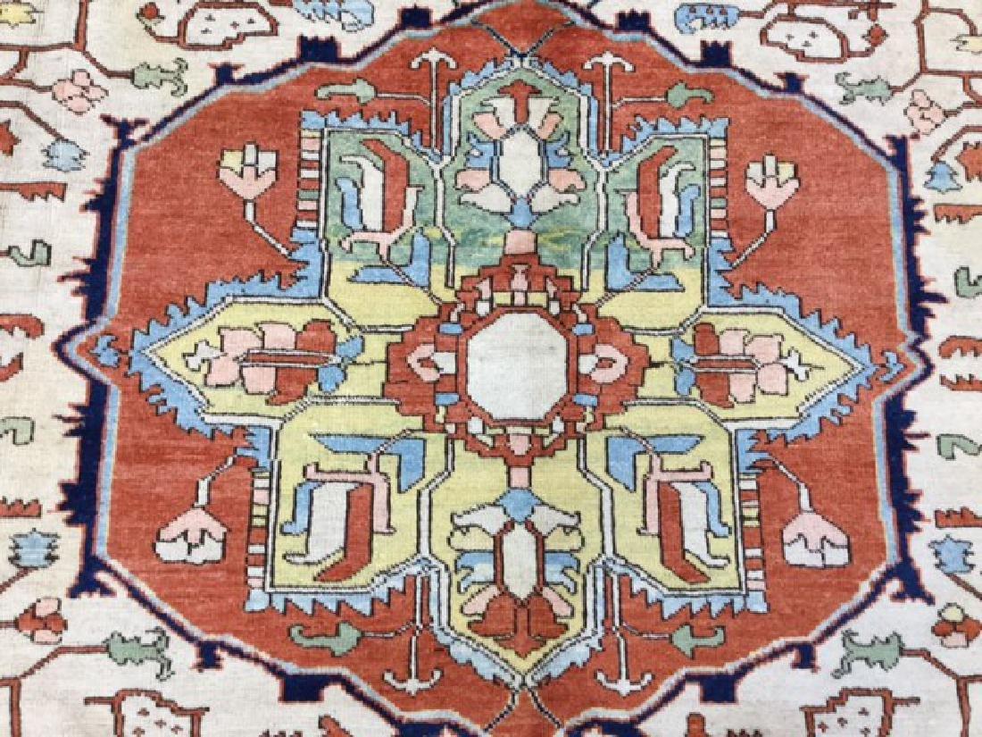 Decorative Persian Serapi Rug 8.3x10.3 - 3