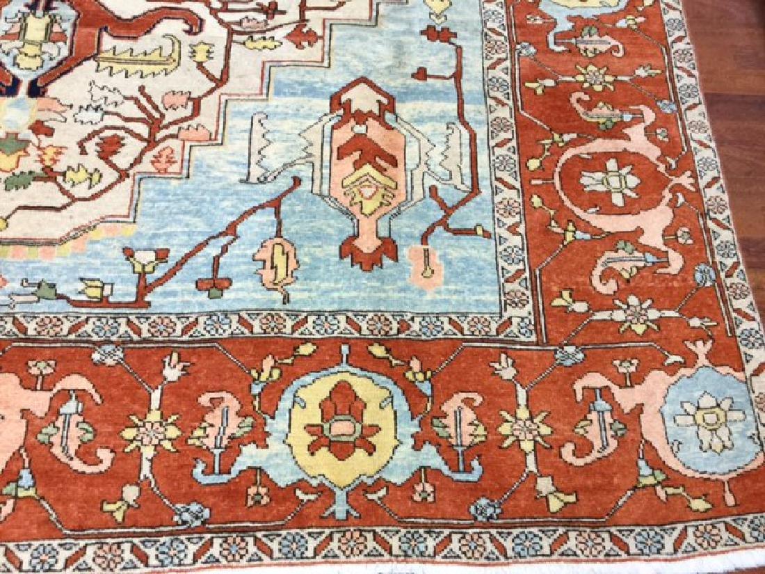 Decorative Persian Serapi Rug 8.3x10.3 - 5