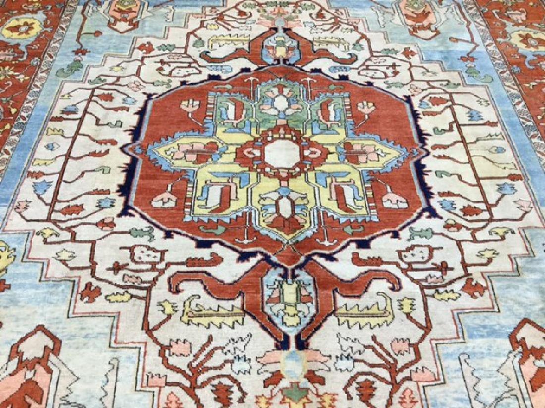Decorative Persian Serapi Rug 8.3x10.3 - 6