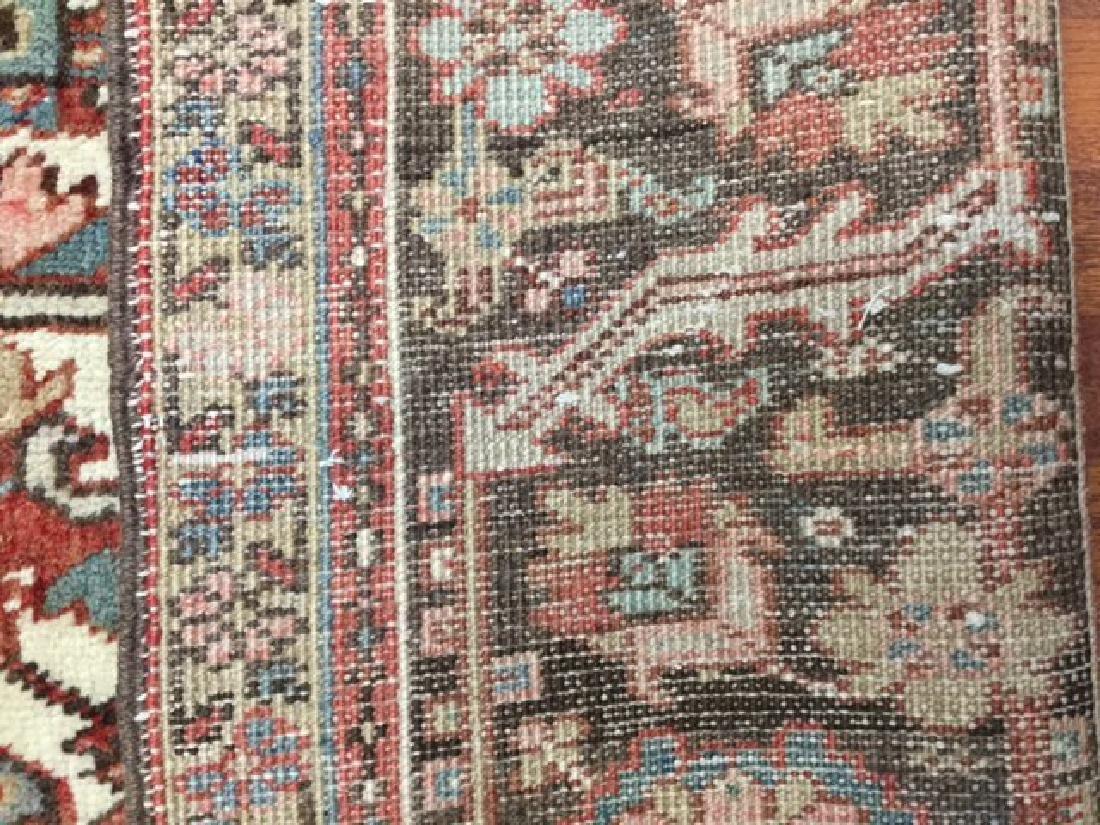 Antique Persian Heriz Rug 9.10x13 - 2