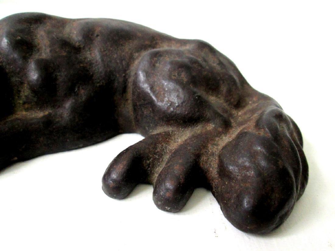 Rare Sleeping Dog Doorstop - 3