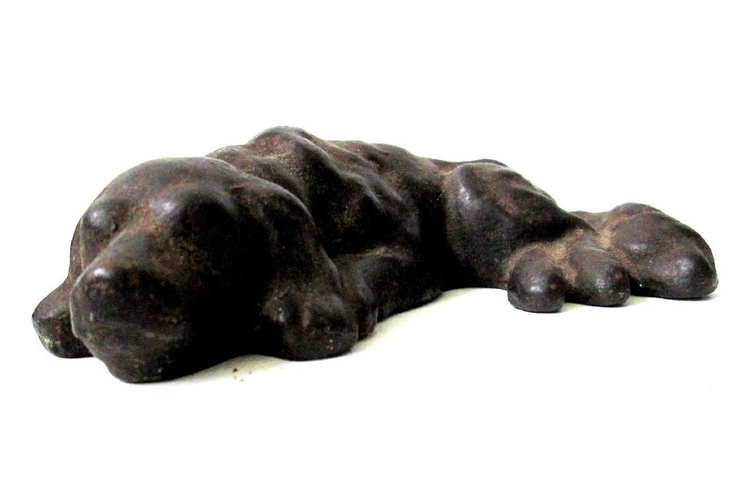 Rare Sleeping Dog Doorstop - 5