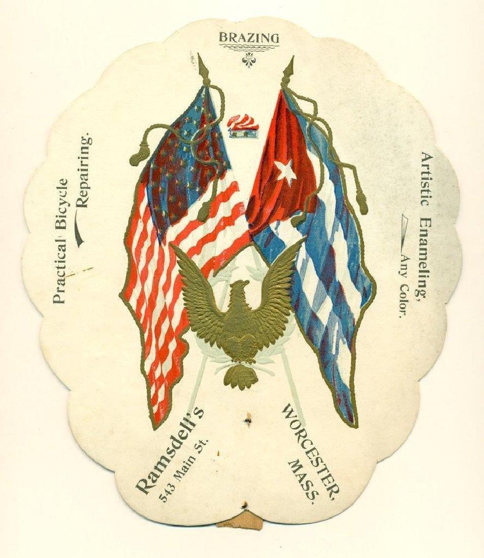 1898 Spanish American War Us Flag & Cuba Ramsdell