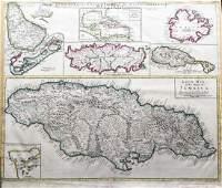 Senex: Composite Map of Jamaica & British West Indies