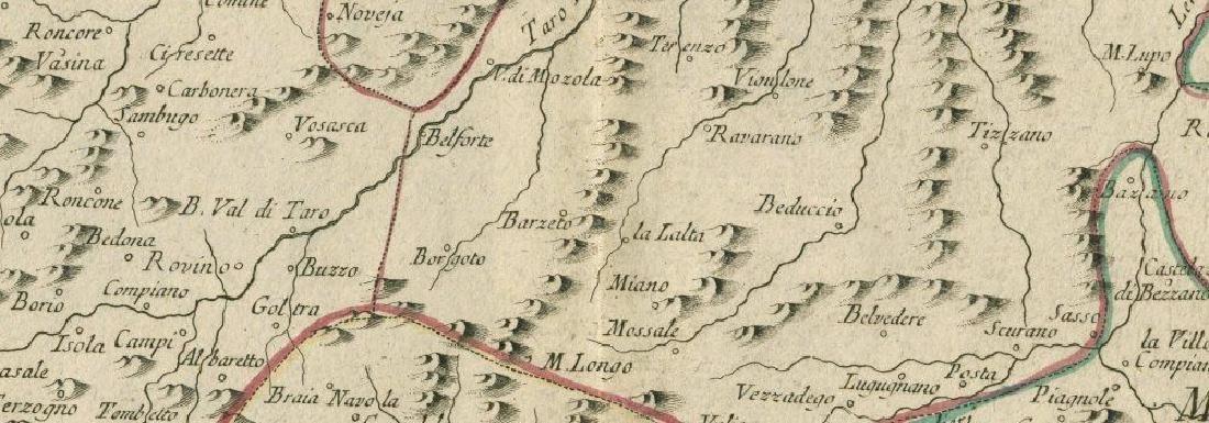 """""""Etats de Parme, et de Modène, avec Gènes"""". Parma - 2"""