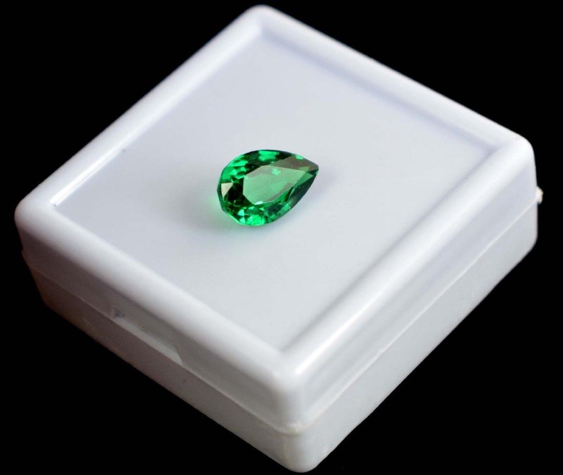4.80 Ct Untreated Green Demantoid Garnet IGL Certified