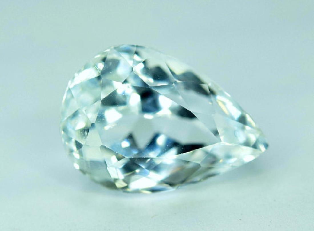 6.55 cts Untreated Aquamarine Gemstone From Pakistan ~