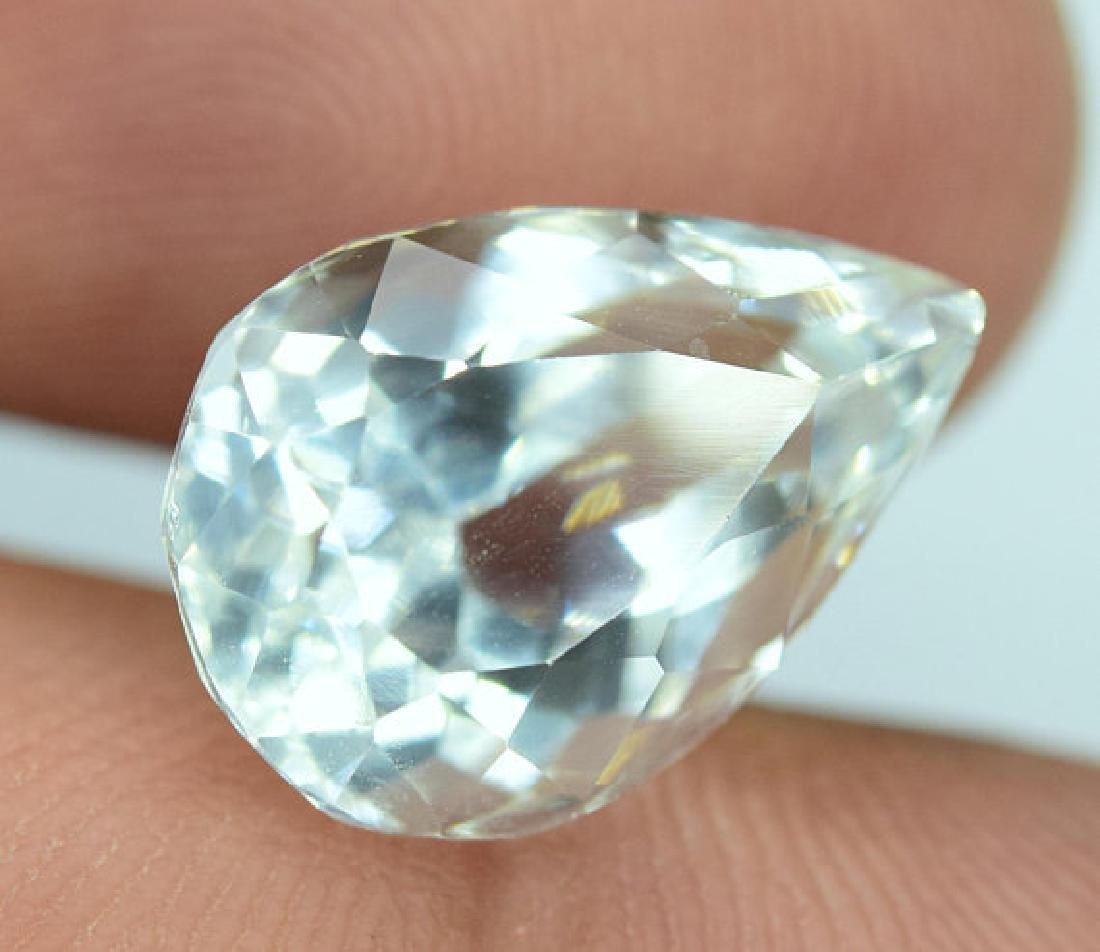 6.55 cts Untreated Aquamarine Gemstone From Pakistan ~ - 2