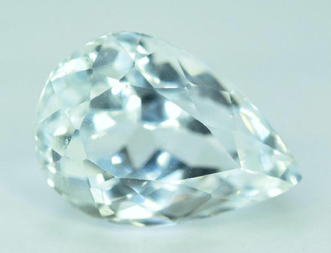 6.55 cts Untreated Aquamarine Gemstone From Pakistan ~ - 3