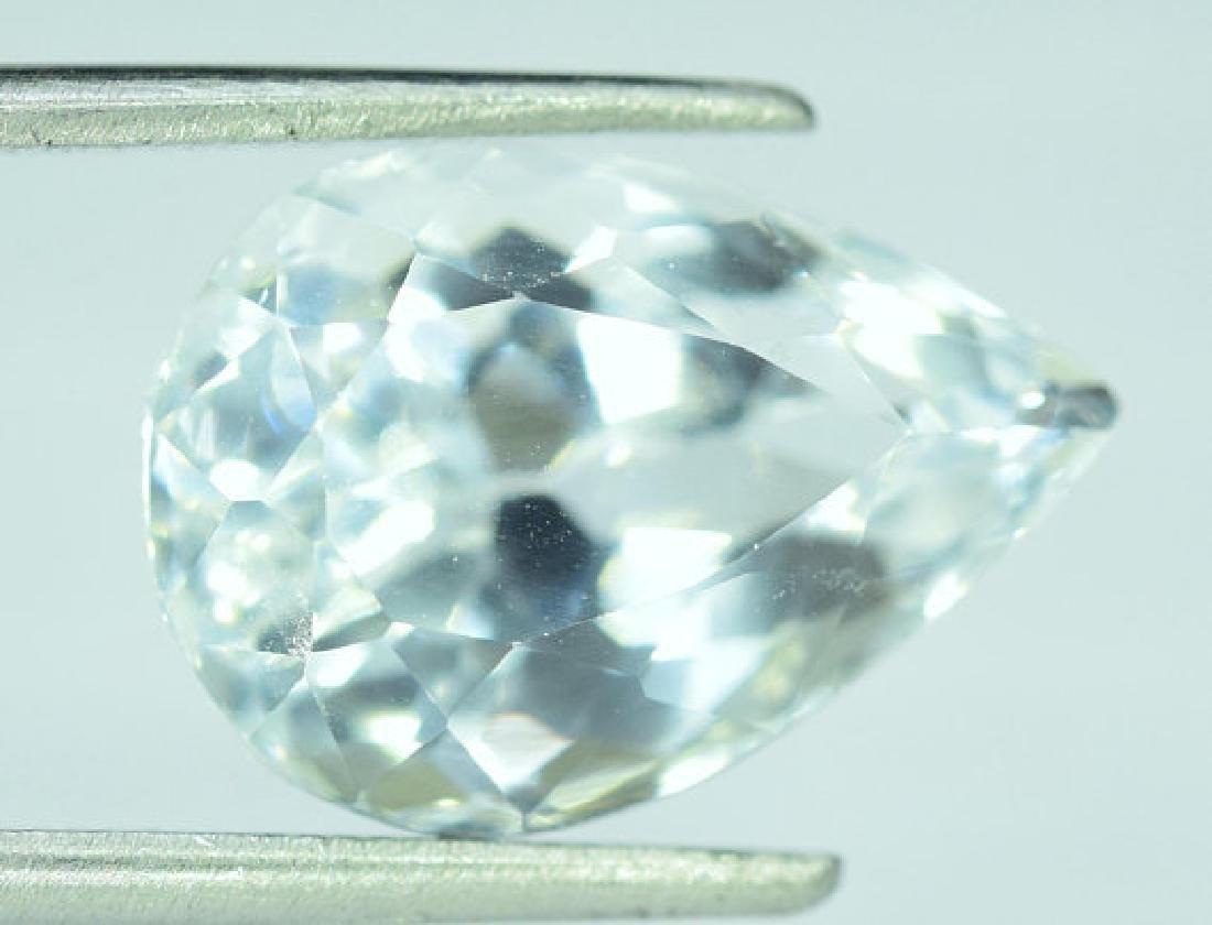 6.55 cts Untreated Aquamarine Gemstone From Pakistan ~ - 4