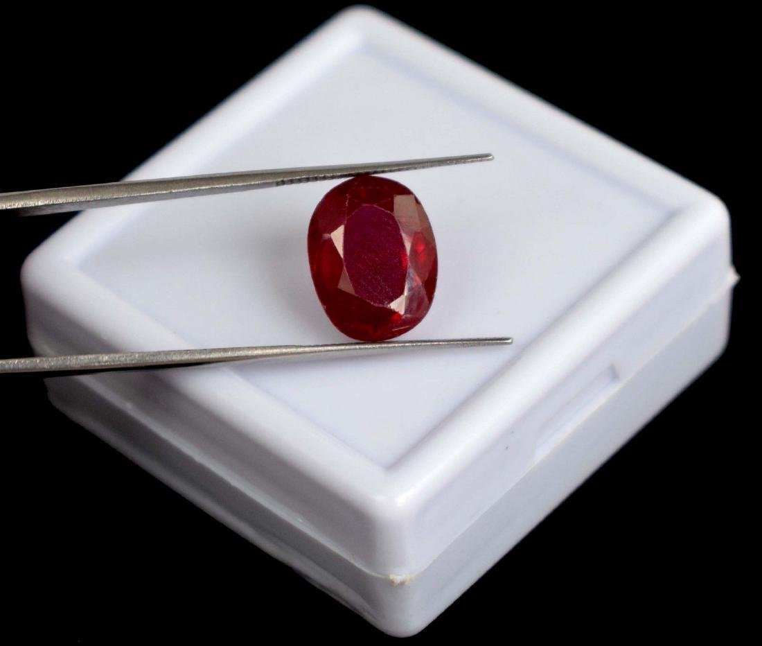 9.60 Ct. Natural Untreated Burma Red Ruby IGL Certified