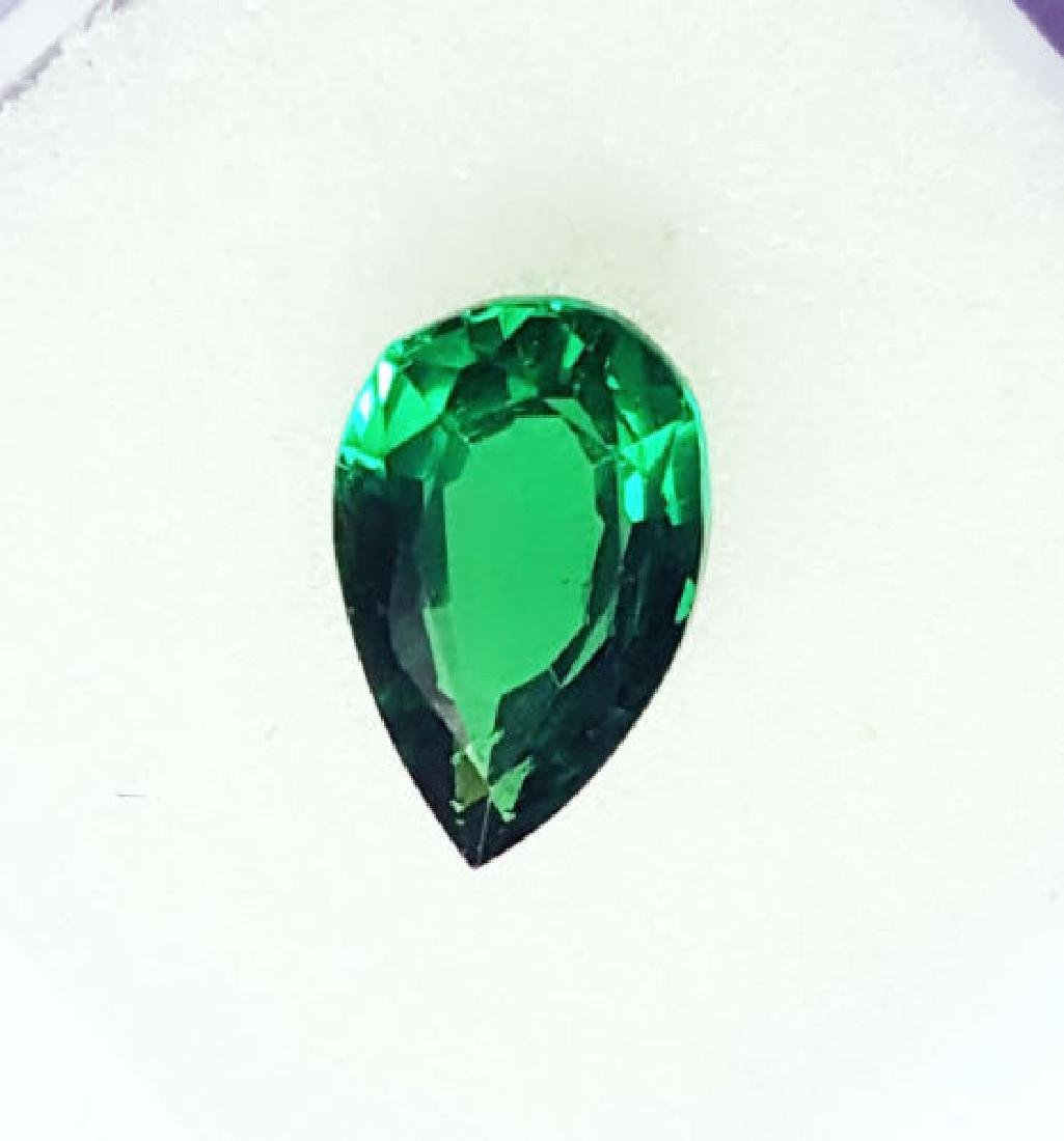 3.17 Ct Untreated Green Garnet Demantoid GGL Certified - 3