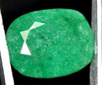 760 Ct Natural Green Zambia Emerald AGSL Certified