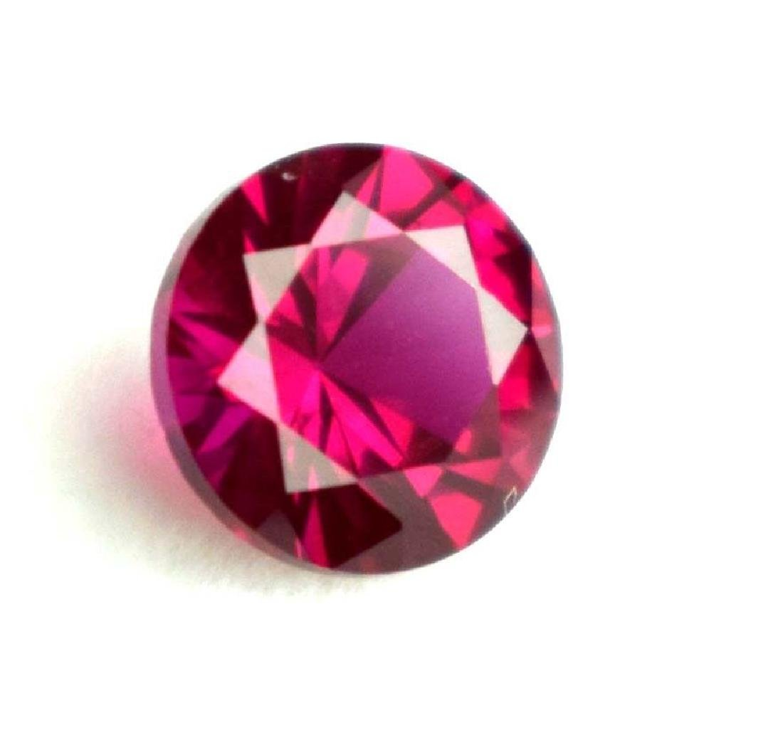 2.20 Ct Natural Round Mozambique Red Ruby IGL Certified